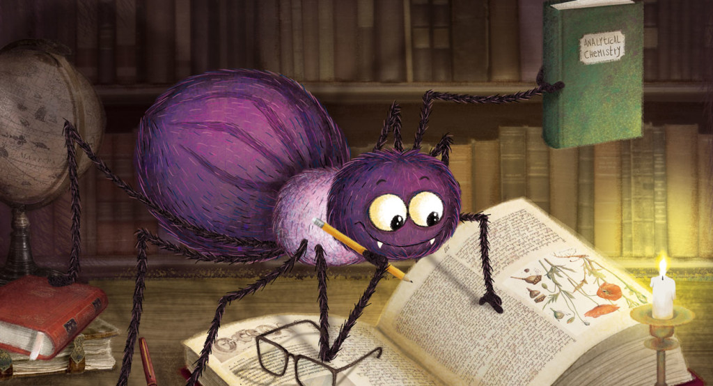 Barbara Cantini Illustrator - book - Anansi the clever spider