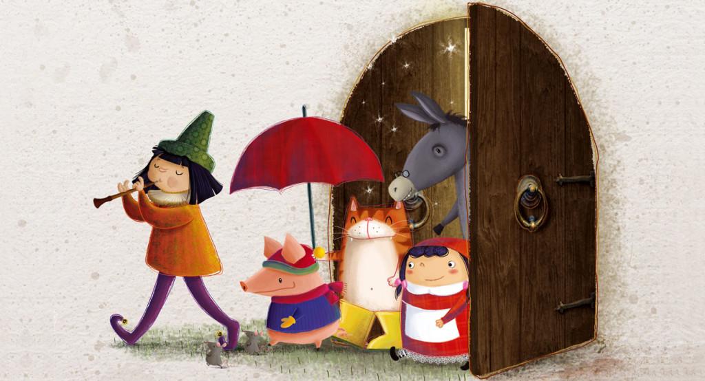 Barbara Cantini Illustrator - Fairy Tales Calendar 2012