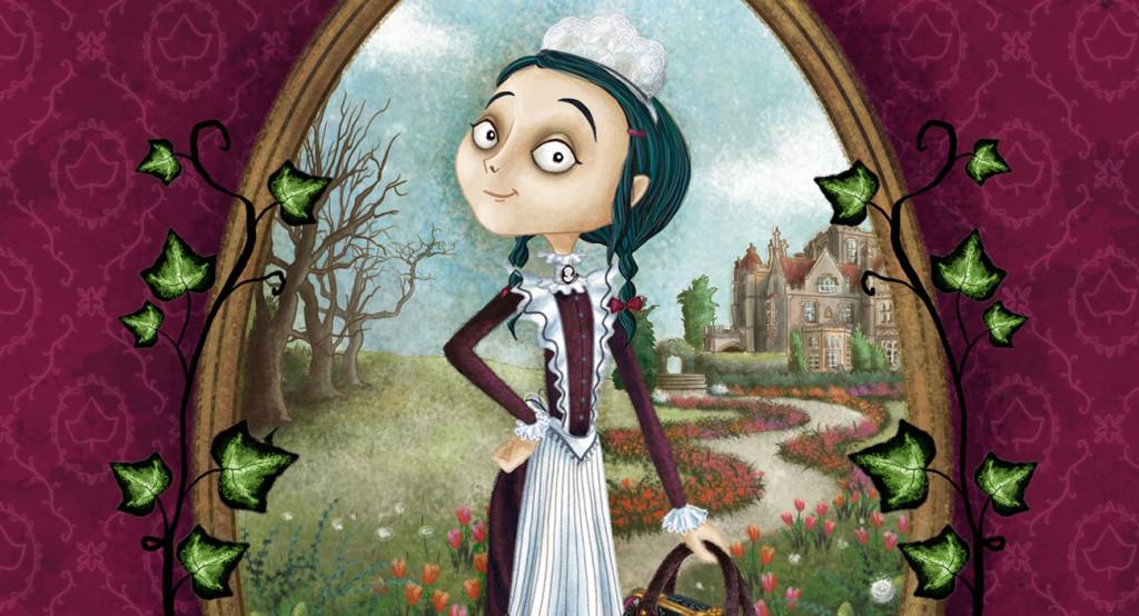 Barbara Cantini Illustrator - book - Anyone but Ivy Pocket
