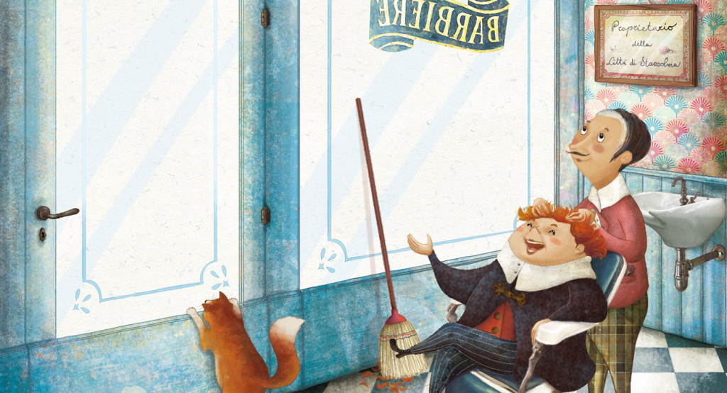 Barbara Cantini Illustrator - book - Buying the city of Stockholm