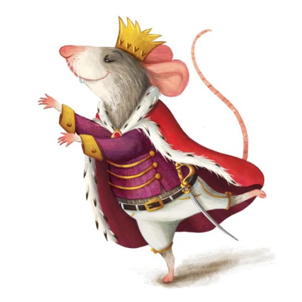 King-mouse-Barbara-Cantini-Illustrator