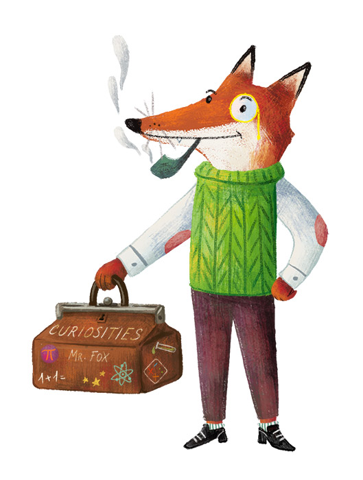 Barbara Cantini Illustrator - Fox for Rizzoli